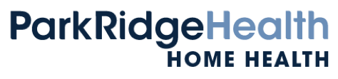 Park Ridge Home Health Logo, national home care and hospice month.